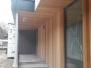 Elewacje drewniane - elewacja cedr kanadyjski