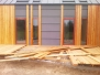 Elewacje drewniane - elewacja i bramy