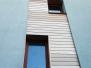 Elewacje drewniane - elewacja Meranti M1