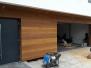 Elewacje drewniane - elewacja Meranti