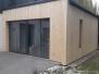 Elewacje drewniane - elewacja Świerk syberyjski profil romb