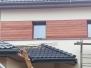 Elewacje drewniane - elewacja wstawki Meranti