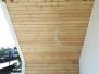 Elewacje drewniane - Podbitka z modrzewia syberyjskiego profil romb