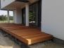 Tarasy drewniane - bangkirai na skos