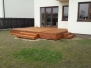 Tarasy drewniane - taras deska kempas
