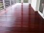 Tarasy drewniane - taras Masaranduba balkon