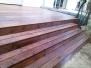 Tarasy drewniane - taras Modrzew Syberyjski kolor kasztan