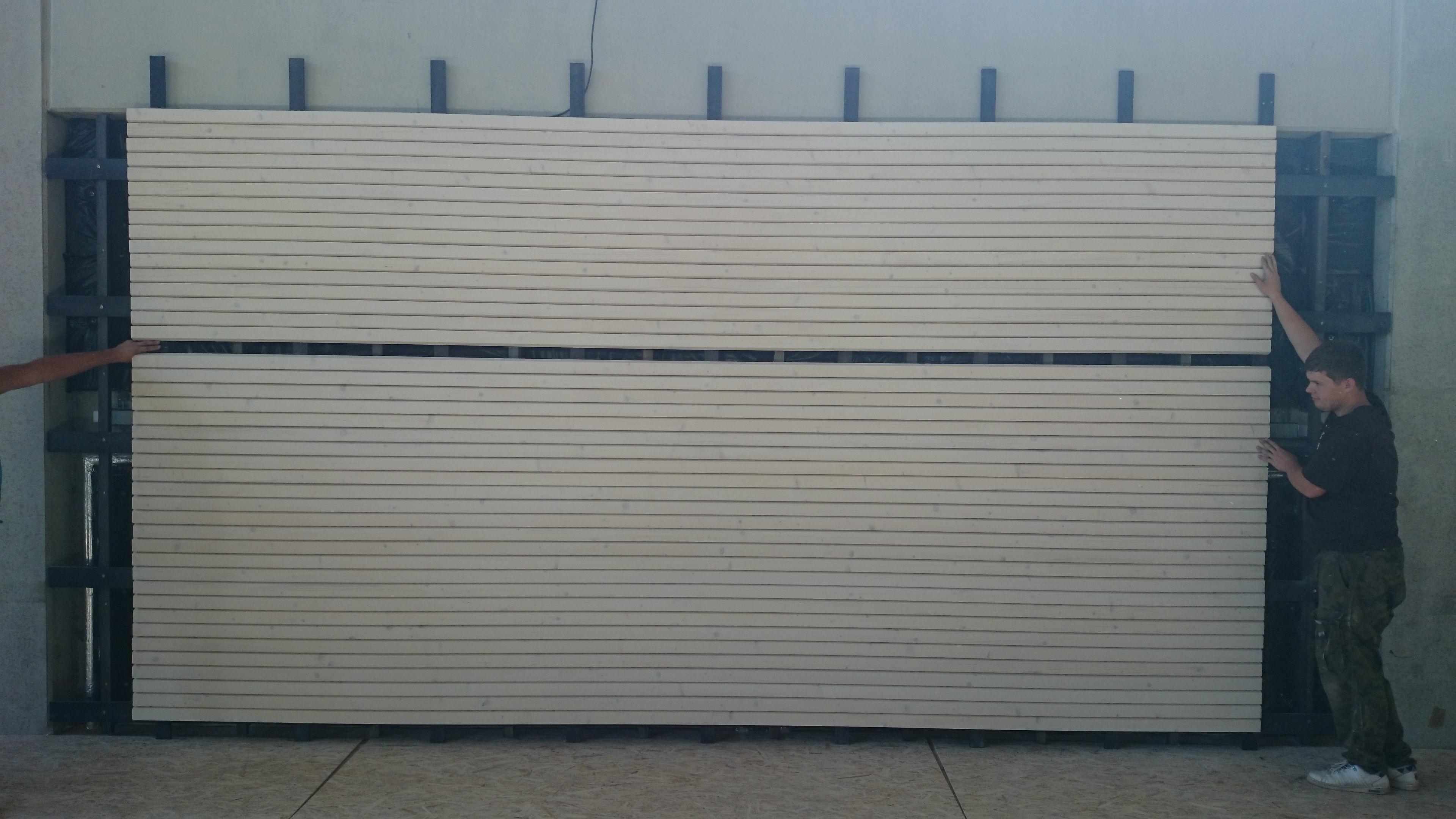 Ściana redukująca siłę uderzenia