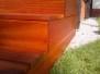 Tarasy drewniane - schody masaranduba