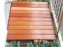 Tarasy drewniane - taras na balkonie modułowy